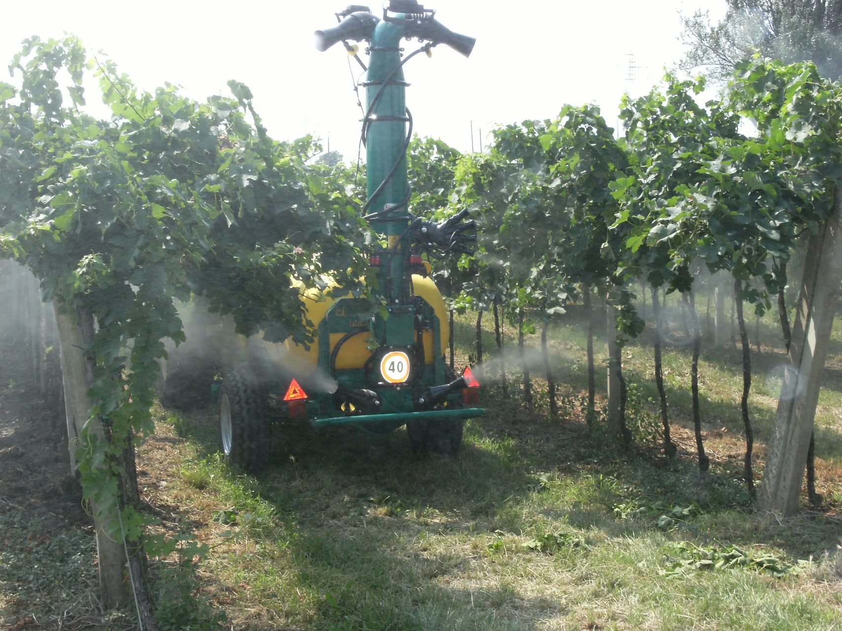 Equipement 2 canons 4 sorties 2 canons - vignobles