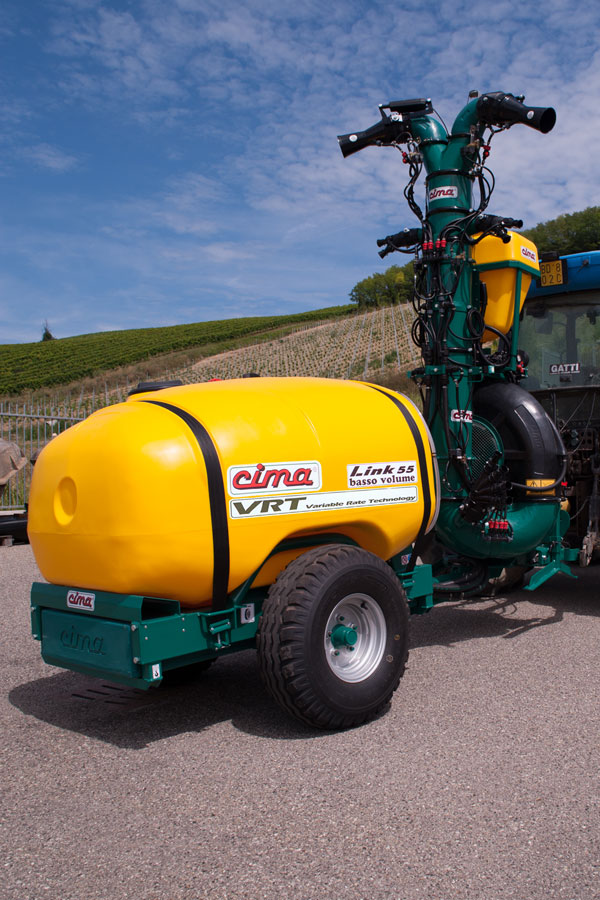 VRT sprayer
